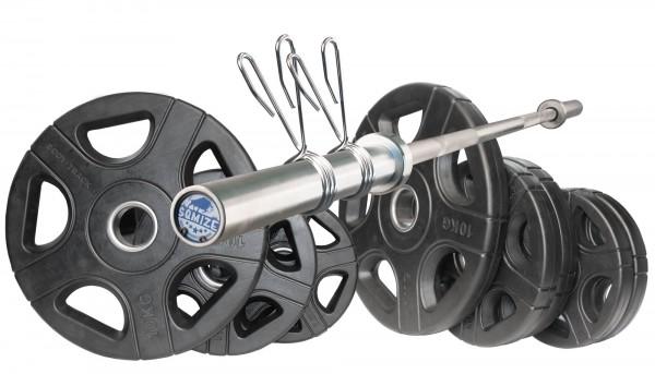 50 mm Langhantel Set Body-Track® DB50RB, 70 kg