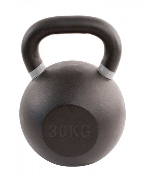 Black Kettlebell SQMIZE® BFK36 farbcodiert, 36 kg