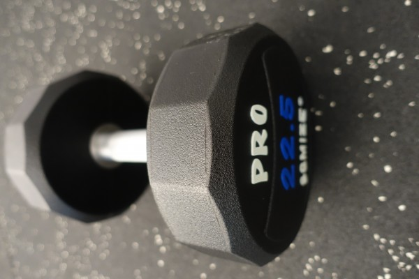 Dumbbell SQMIZE® PRO STYLE DCPU22.5 Polyurethan