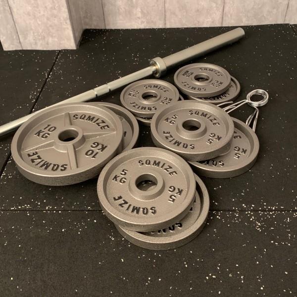Olympia Legacy Langhantelset SQMIZE® DB50LP, 70 kg