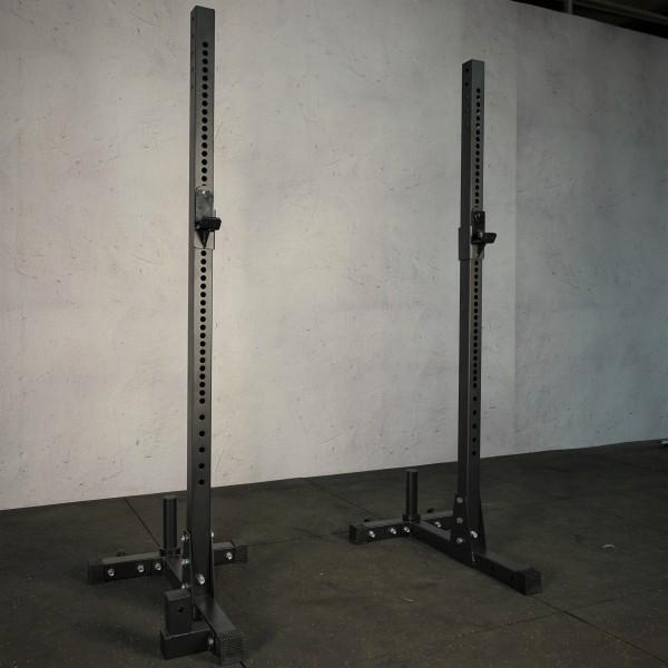 Squat Ständer, Kniebeugenständer SQMIZE® SQ520 Multicross 2-teilig, H 184 cm