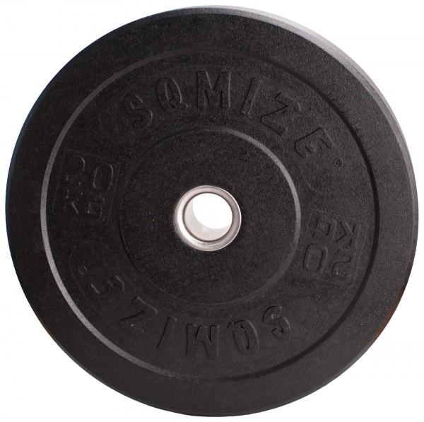 Crump Bumper Plate SQMIZE® CRBP20 Training, 20 kg, High-Tempered