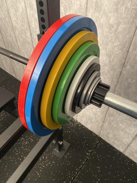Powerlifting Hantelset SQMIZE® PLSP179 Hamburg Competition, 179 kg