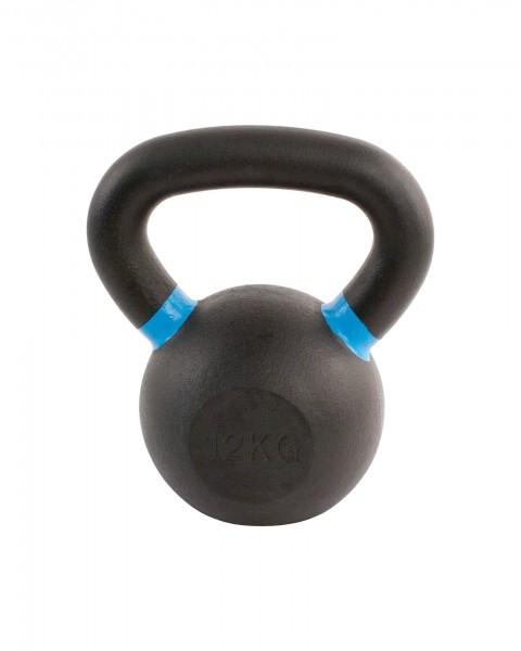 Black Kettlebell SQMIZE® BFK12 farbcodiert, 12 kg