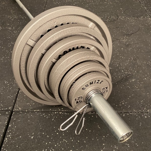 Olympia Legacy Langhantelset SQMIZE® DB371, 145 kg
