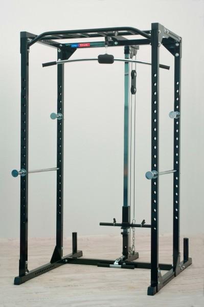 Functional Power Rack newfitness® NE770A mit Latzugstation