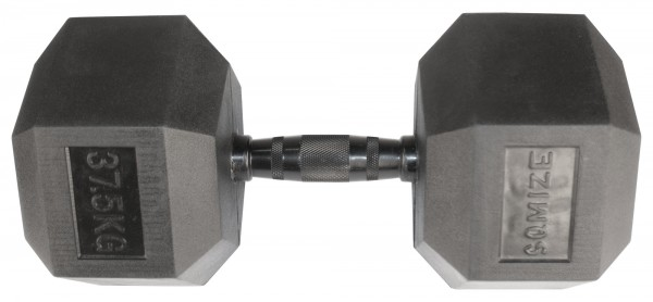 Hex Dumbbell SQMIZE® HDBR-Z37.5 Black Zinc