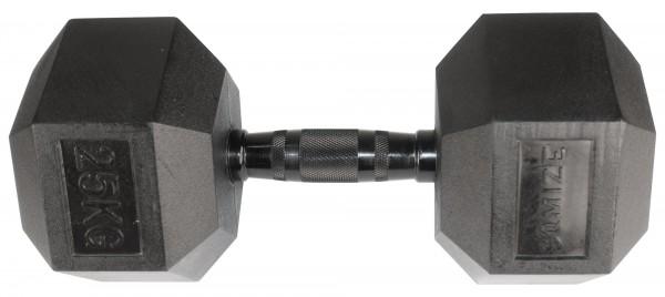 Hex Dumbbell SQMIZE® HDBR-Z25 Black Zinc