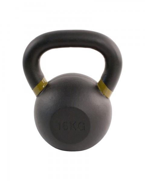 Black Kettlebell SQMIZE® BFK16 farbcodiert, 16 kg