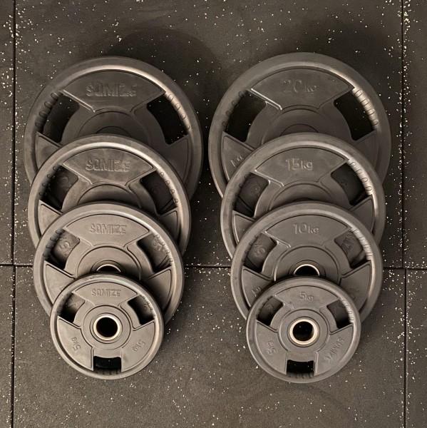 Olympia Hantelscheiben-Set SQMIZE® OPRD100, 100 kg