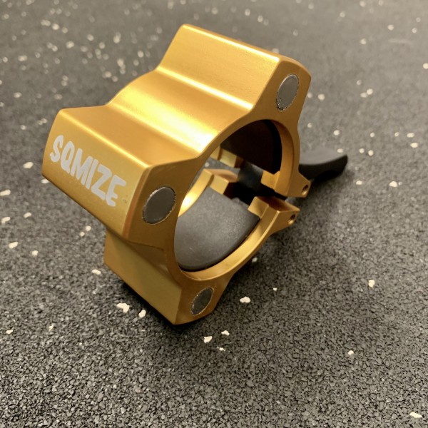Hantelverschluss 50 mm SQMIZE® OC14 Magnetic Gold