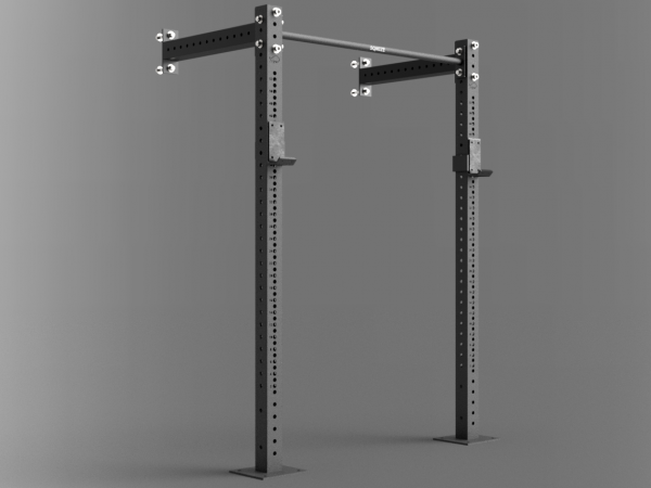 Wall-Mounted Power Rack Konfigurator SQMIZE® Premium Bison Series
