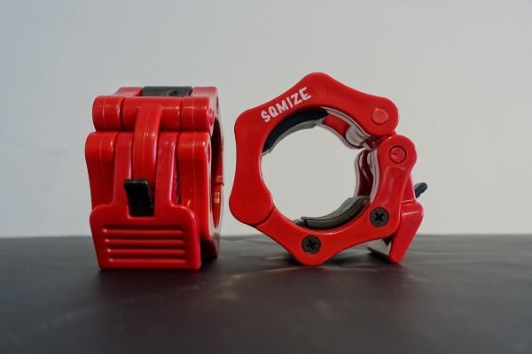 Hantelverschluss 50mm SQMIZE® OC10C Red