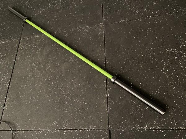 Olympia Langhantelstange SQMIZE® OB86CR-XE CERAMIC BlackGreen
