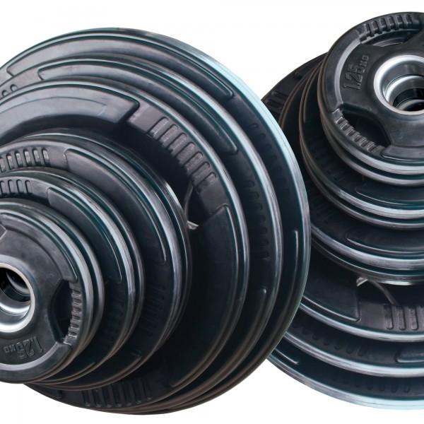 Olympia Hantelscheibenset Body-Track® DB126R, 125 kg