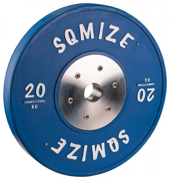 Competition Series SQMIZE® Bumper Plate CompBP20