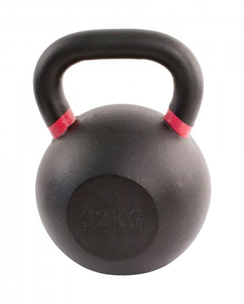 Black Kettlebell SQMIZE® BFK32 farbcodiert, 32 kg
