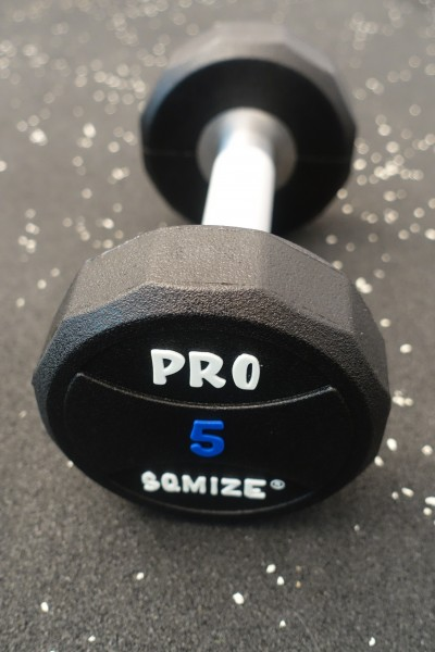Dumbbell SQMIZE® PRO STYLE DCPU5 Polyurethan