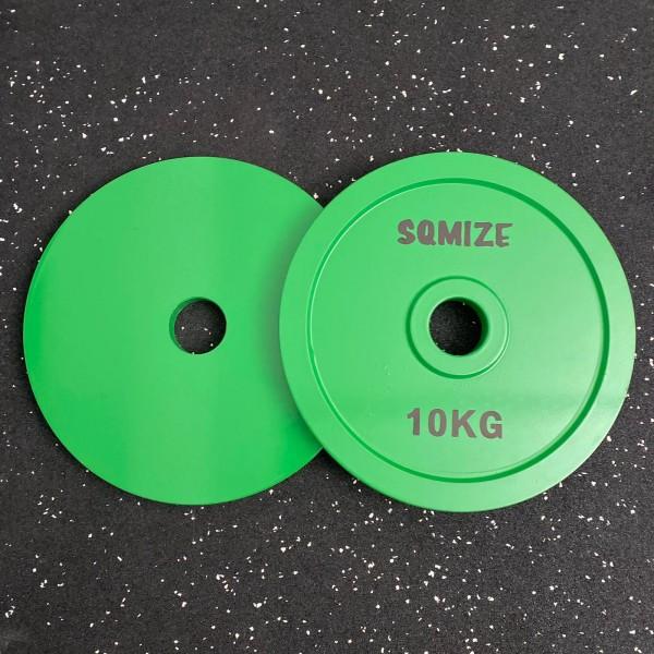 Powerlifting Hantelscheibe SQMIZE® PLSP10 Steel Plate Series