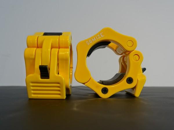 Hantelverschluss 50mm SQMIZE® OC10C Yellow