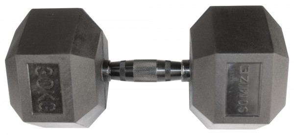 Hex Dumbbell SQMIZE® HDBR-Z30 Black Zinc