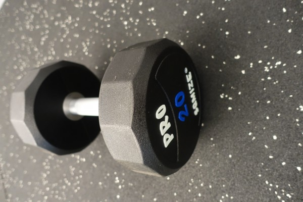 Dumbbell SQMIZE® PRO STYLE DCPU20 Polyurethan