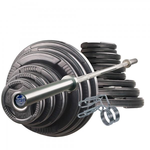 Olympia Langhantelset Body-Track® DB331, 145 kg