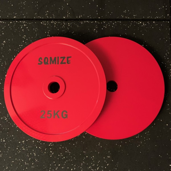 Powerlifting Hantelscheibe SQMIZE® PLSP25 Steel Plate Series
