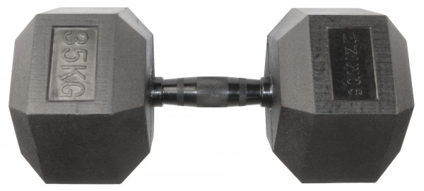 Hex Dumbbell SQMIZE® HDBR-Z35 Black Zinc