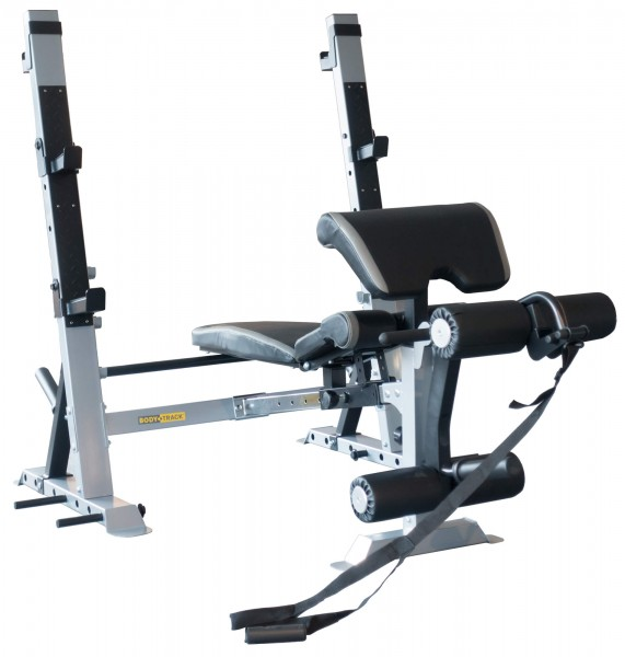 Olympia Langhantelbank, Squat Ständer Body-Track® WB3i, Club Edition