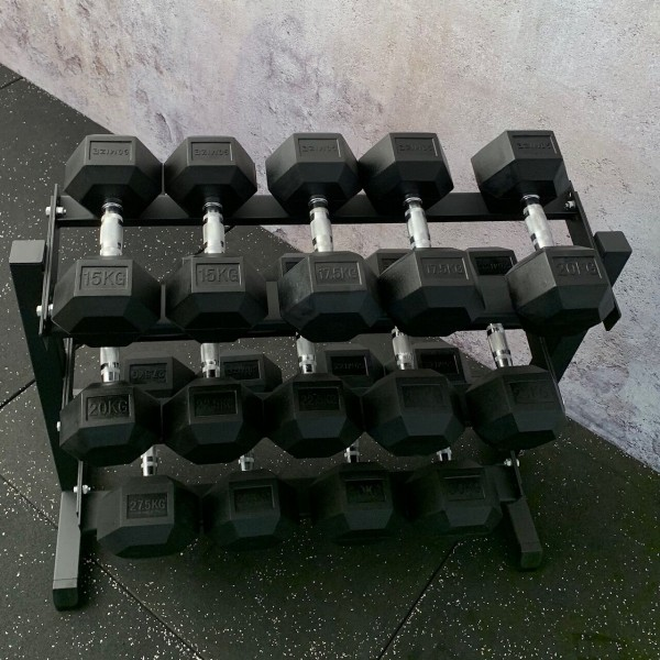 Hex Dumbbell Set mit Rack SQMIZE® SQ220-R315
