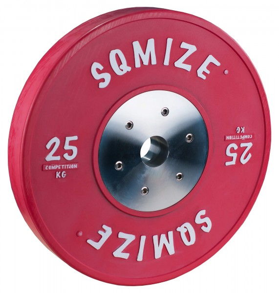 Competition Series SQMIZE® Bumper Plate CompBP25