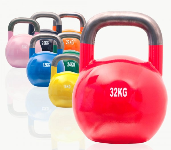 Competition Kettlebell Set SQMIZE® CKB140, 140 kg
