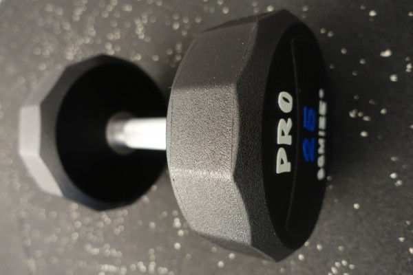 Dumbbell SQMIZE® PRO STYLE DCPU25 Polyurethan