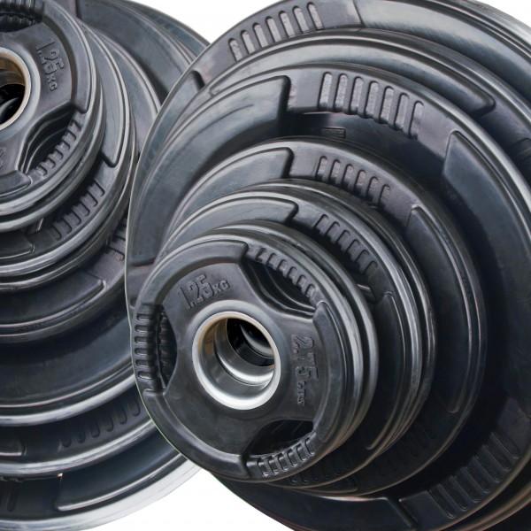 Olympia Hantelscheiben Set Body-Track® DB125R, 125 kg
