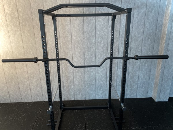 Olympia Cambered Bench Press Bar SQMIZE® OB86CB-R+ Black