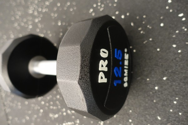 Dumbbell SQMIZE® PRO STYLE DCPU12.5 Polyurethan