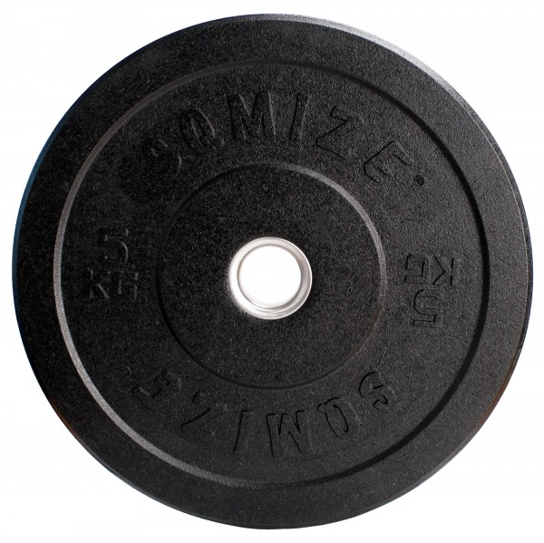 Crump Bumper Plate SQMIZE® CRBP5 Training, 5 kg, High Tempered