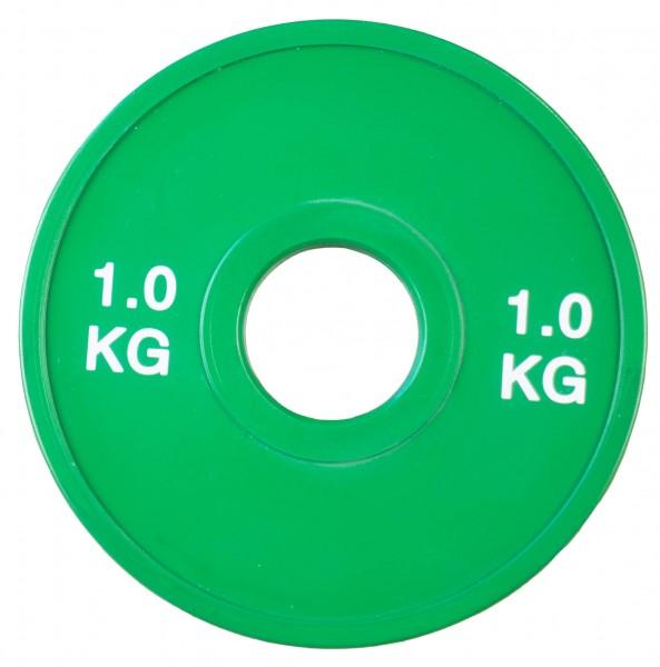 Fractional Plate SQMIZE® TP1.00, grün gummiert
