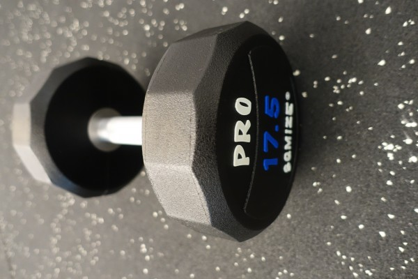 Dumbbell SQMIZE® PRO STYLE DCPU17.5 Polyurethan