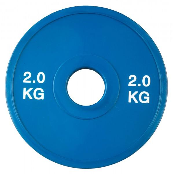 Fractional Plate SQMIZE® TP2.00, blau gummiert