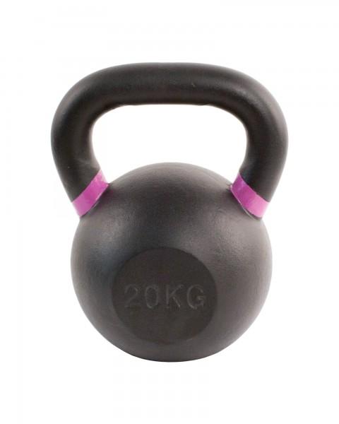 Black Kettlebell SQMIZE® BFK20 farbcodiert, 20 kg