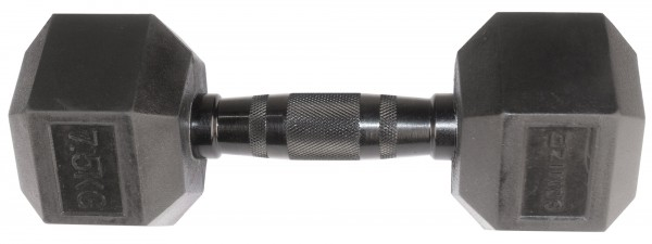 Hex Dumbbell SQMIZE® HDBR-Z7.5 Black Zinc