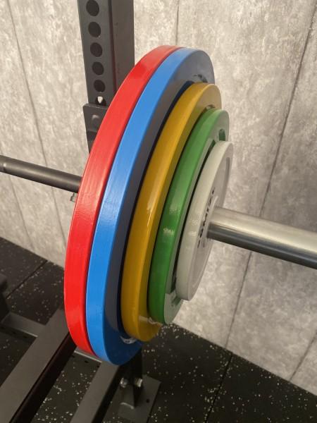 Powerlifting Hantelscheiben-Set SQMIZE® PLSP150, 150 kg