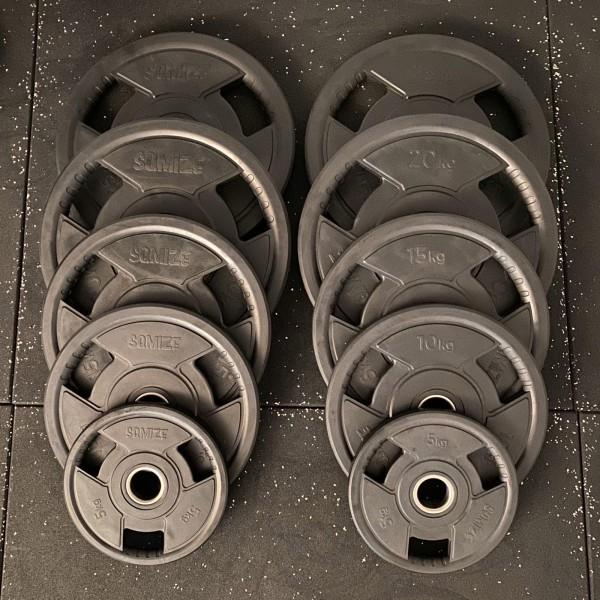 Olympia Hantelscheibenset SQMIZE® OPRD150, 150 kg