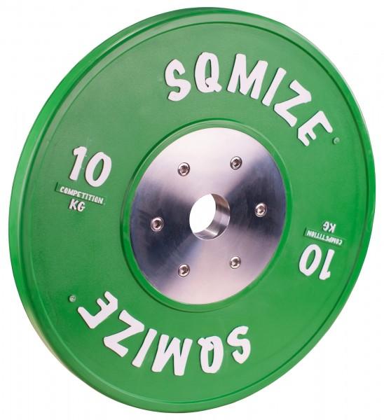 Competition Series SQMIZE® Bumper Plate CompBP10