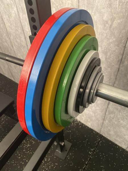 Powerlifting Hantelscheiben-Set SQMIZE® PLSP159, 159 kg