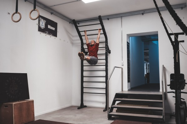 Power Rack Flying Pull-up Sprossenwand SQMIZE® SQ480FPL