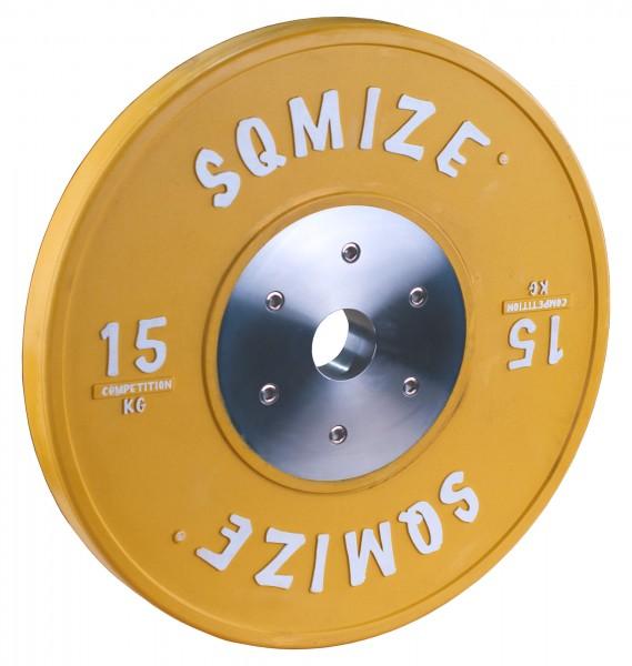 Competition Series SQMIZE® Bumper Plate CompBP15