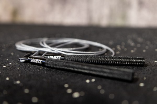 Jump Rope SQMIZE® SRQ Training Black Silver Edition
